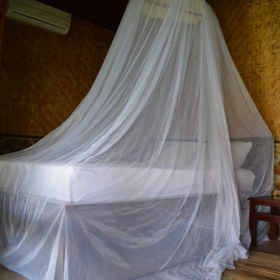 Bed Veil Ruffle Canopy With Bed Veil Four Poster Bed